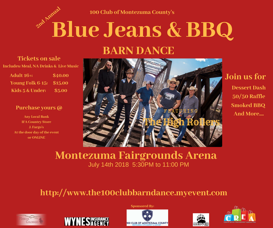 The 100 Club of Montezuma Blue Jeans & BBQ